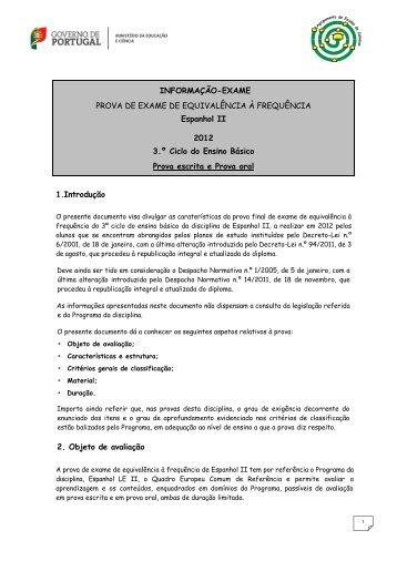 Matriz Do Exame De Equival 202 Ncia 192 Frequ 202 Ncia