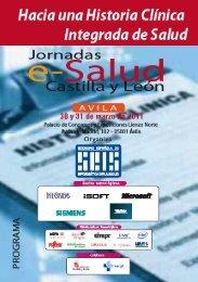 Programación - Sociedad Española de Informática de la Salud
