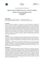 Programme - Cluster 13