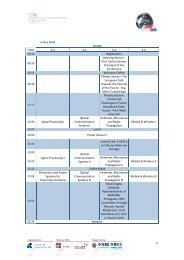 4 May 2009 ROOM TIME S.1 S.2 S.3 S.4 08:30 Registration 09:30 ...