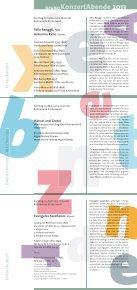 Konzertprogramm-2013-web - erkap | Evangelisch-Reformierte ... - Seite 2