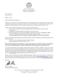 Complete an application - Manhattan Borough President