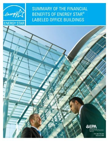 summary of the financial benefits of energy star labeled office  ...