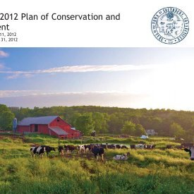 2012 Southbury Plan of Conservation and Development - Town of ...