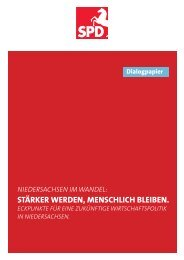 Dialogpapier (farbige Version) herunterladen - SPD Niedersachsen