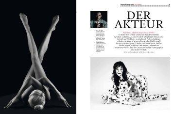 """""""camera""""-Magazin """"Der Akteur"""" - Fotostudio Visible"""