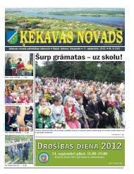 Nr.9. 2012. gada septembris - Ķekavas pagasts