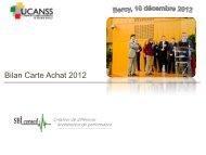 Comité de pilotage Carte Achats - apeca