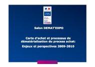 Salon DEMAT'EXPO 2009 - apeca