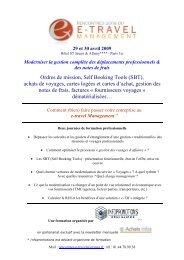 e-travel Management - apeca