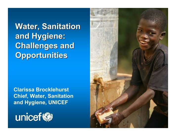 carinderia sanitation Safe and sufficient drinking-water, along with adequate sanitation and hygiene have implications across all millennium development goals (mdgs) – from eradicating poverty and hunger, reducing child mortality, improving maternal health, combating infectious diseases, to ensuring environmental sustainability.