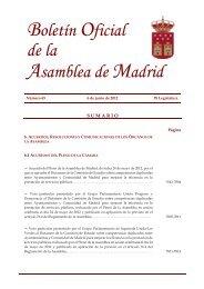 BOA nº 65 de 6 de junio de 2012 - Asamblea de Madrid
