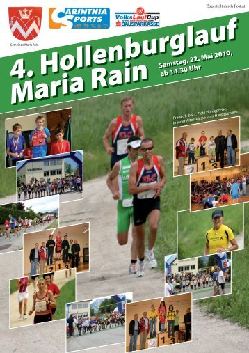 4. Hollenburglauf Maria Rain - Walk and Run