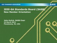 Cover Page Using a Light Image - The IEEE Standards Association