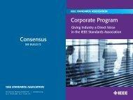 Capabilities Brochure - The IEEE Standards Association