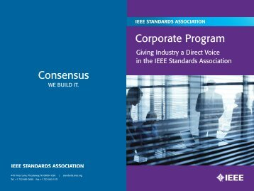 Capabilities Brochure - The IEEE Standards Association