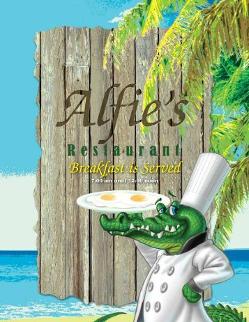 Breakfast is Served - Alfies Restaurant