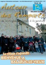 Mise en page 1 - Mairie de Balaruc Le Vieux
