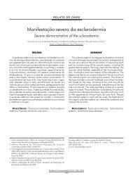 Manifestação severa da esclerodermia - ABCCMF