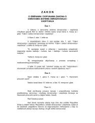 RS(SR)Law on Amendments to the Education System ... - ERI SEE