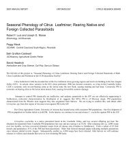 2007 Luck and Morse (Seasonal Phenology of Leafminer) - Citrus ...