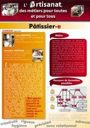 Pâtisserie - Chambre régionale de métiers et de l'artisanat du ...