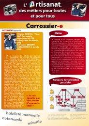 Carrosserie - Chambre régionale de métiers et de l'artisanat du ...