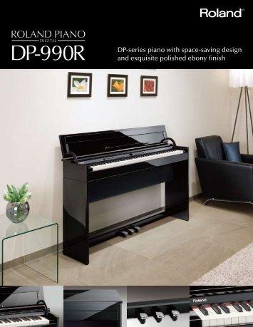 DP-990R Brochure - Roland Corporation US