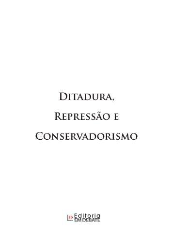 Ditadura, Repressão e Conservadorismo - ResearchGate