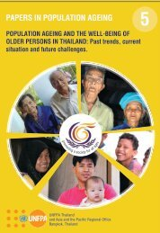 Population Ageing and the Well-Being of Older Persons in Thailand ...