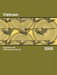 Vietnam Population and AIDS Indicator Survey 2005 ... - Measure DHS