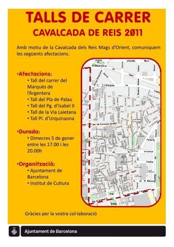 TALLS DE CARRER - Institut Metropolità del Taxi