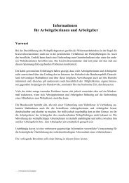 Informationen für Arbeitgeber - Reservisten der Bundeswehr