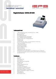 Registrierkasse SAM4s ER 650 - EPS AG (Bern)