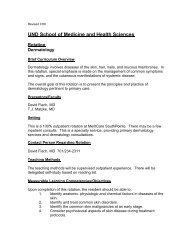 Dermatology - School of Medicine & Health Sciences