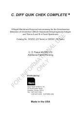 C. DIFF QUIK CHEK COMPLETE 07-2012 rev.pmd - TechLab