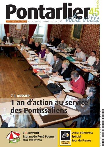 45 votre ville - Ville de Pontarlier