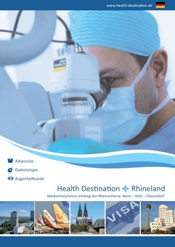 Health Destination Rhineland Broschüre Nr. 2 GER