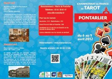 Hébergements : www.pontarlier.org Navette gratuite : 06 ... - Mobi Pont