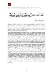 Marie-Thérèse Bitsch, Robert Schuman, Apôtre de l'Europe 1953 ...