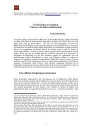 LE FASCISME AU CINEMA - Histoire@Politique