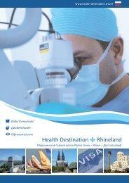 Health Destination Rhineland Broschüre Nr. 2 RUS
