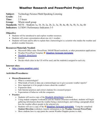 Career research project essay