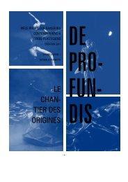 DE PROFUNDIS.pdf - Compagnie Pernette