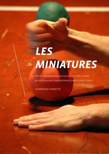 LES MINIATURES.pdf - Compagnie Pernette