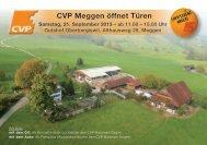 CVP Meggen öffnet Türen - CVP Luzern