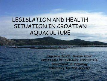 LEGISLATION AND HEALTH SITUATION IN CROATIAN ... - SIPI