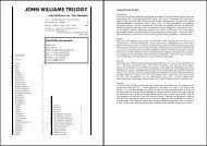 JOHN WILLIAMS TRILOGY - Tierolff Muziekcentrale