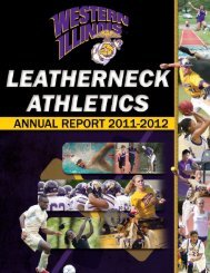 2011-12 Annual Report - Western Illinois University Athletics