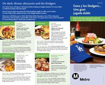 Cena y los Dodgers… Una gran jugada doble